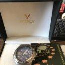 Relojes - Viceroy: RELOJ TITANIO VICEROY SIN USO MULTIFUNCIONAL CRONÓGRAFO SUMERJIBLE. Lote 167023286