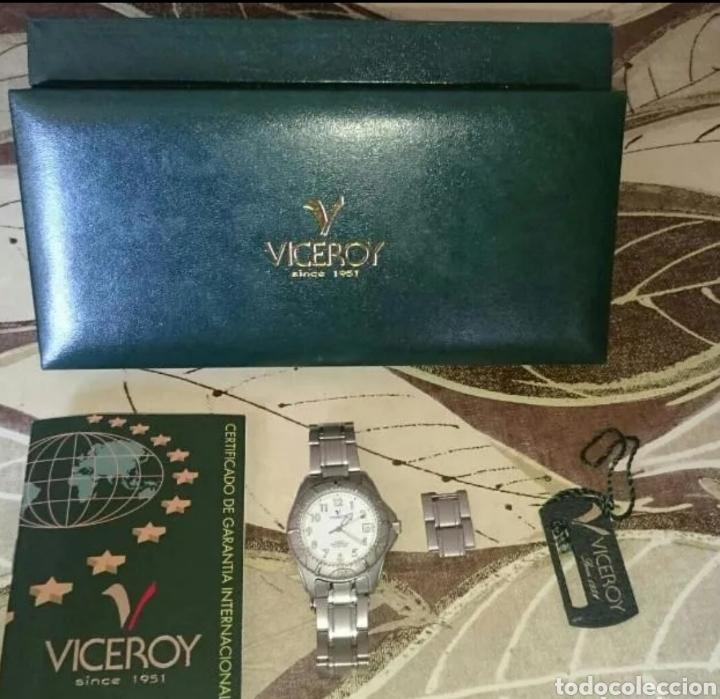RELOJ VICEROY 100 % ORIGINAL NUEVO COMPLETO (Relojes - Relojes Actuales - Viceroy)