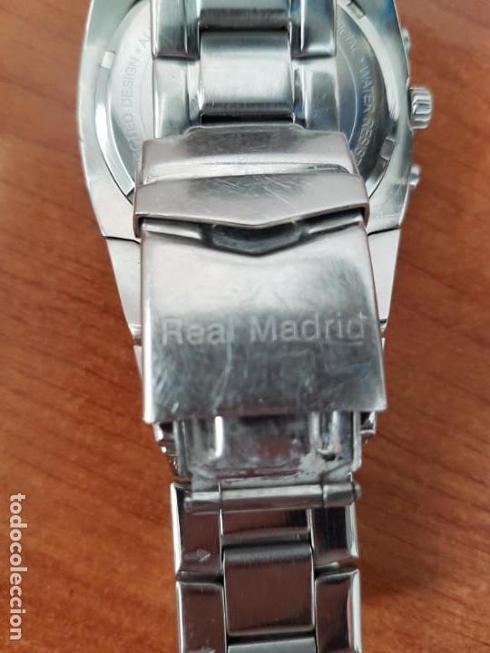Relojes - Viceroy: Reloj caballero VICEROY (Real Madrid) cronografo,en acero, esfera negra con correa acero original - Foto 9 - 171098829