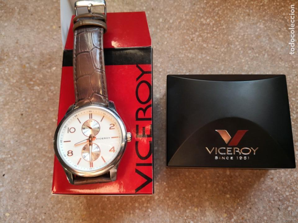 PRECIOSO RELOJ VICEROY COMO NUEVO (Relojes - Relojes Actuales - Viceroy)