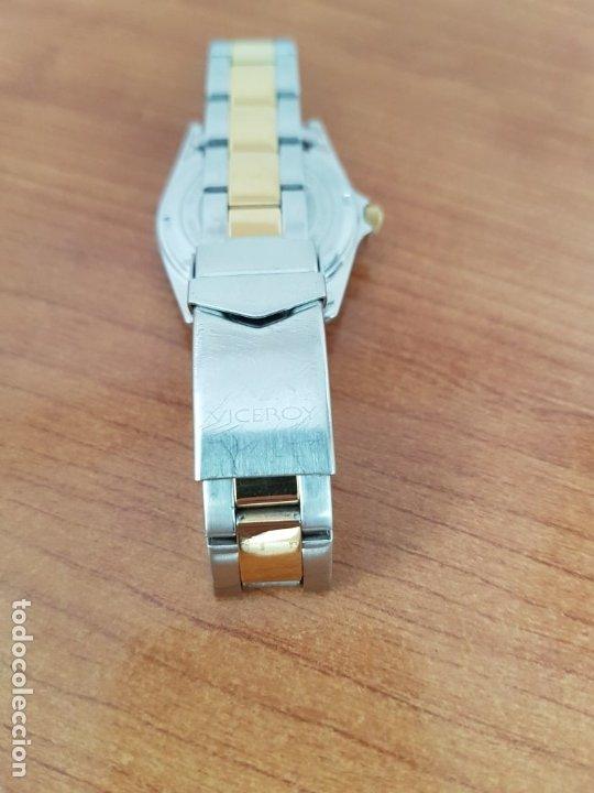 Relojes - Viceroy: Reloj señora de cuarzo VICEROY, acero y chapado de oro, calendario a las tres, correa bicolor - Foto 9 - 178272995