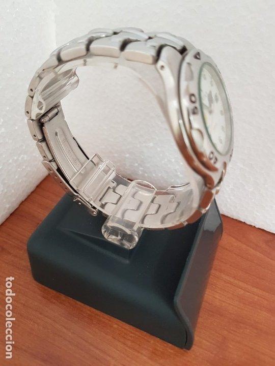 Relojes - Viceroy: Reloj caballero acero VICEROY cuarzo con correa acero original y anagrama, esfera blanca calendario - Foto 8 - 178296983