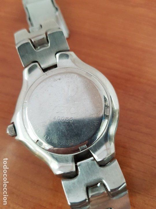 Relojes - Viceroy: Reloj caballero acero VICEROY cuarzo con correa acero original y anagrama, esfera blanca calendario - Foto 16 - 178296983