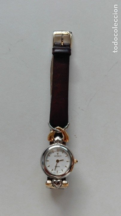 RELOJ DE SEÑORA VICEROY. CON CORREILLA DE CUERO (Relojes - Relojes Actuales - Viceroy)
