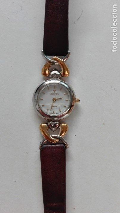 Relojes - Viceroy: RELOJ DE SEÑORA VICEROY. CON CORREILLA DE CUERO - Foto 2 - 178364768