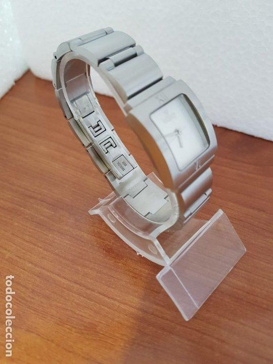 Relojes - Viceroy: Reloj de señora de cuarzo VICEROY en acero, esfera blanca, con correa original VICEROY - Foto 6 - 178445117