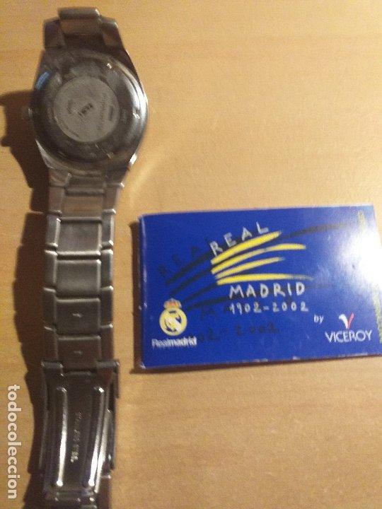 Relojes - Viceroy: RELOJ DEL CENTENARIO DEL REAL MADRID C.F. - Foto 6 - 179199338