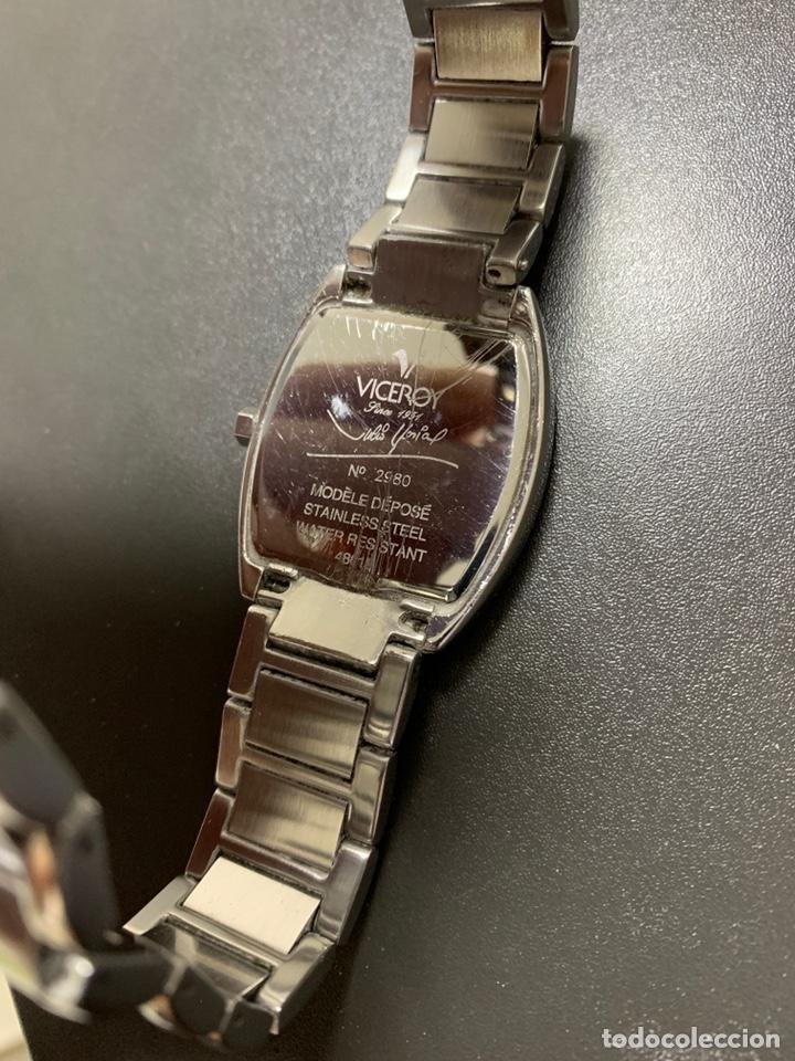 Relojes - Viceroy: Reloj VICEROY edición limitada Julio Iglesias acero armis Quartz funcionando 2012 - Foto 8 - 182642306