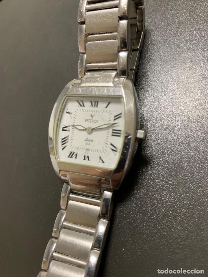 Relojes - Viceroy: Reloj VICEROY edición limitada Julio Iglesias acero armis Quartz funcionando 2012 - Foto 2 - 182642306