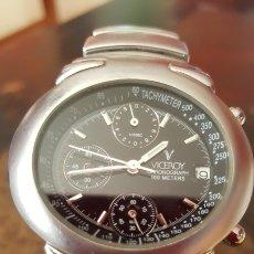 Relojes - Viceroy: RELOJ VICEROY CALENDARIO CRONGRAPH WATER RESISTEN 100MTROS NUEVO FUNCIONA BIEN. Lote 183809946