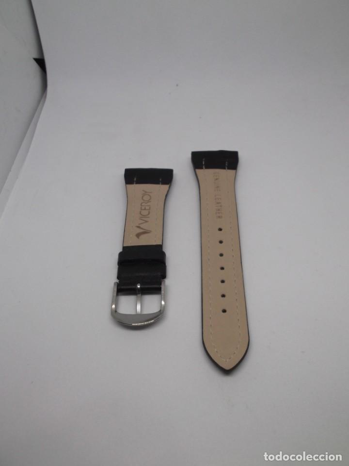 Relojes - Viceroy: Correa negra de piel de Viceroy - Foto 4 - 192318713