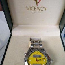 Relojes - Viceroy: RELOJ CABALLERO VICEROY DOBLE HORARIO CRONO 43237 50 METER EN CAJA DIGITAL ANALÓGICO. Lote 192742538