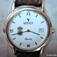Relojes - Viceroy: RELOJ SUIZO PARA HOMBRE MARCA VICEROY. ESCUDO REGIMIENTO INMEMORIAL DEL REY. EXCLUSIVO.. Lote 193443413