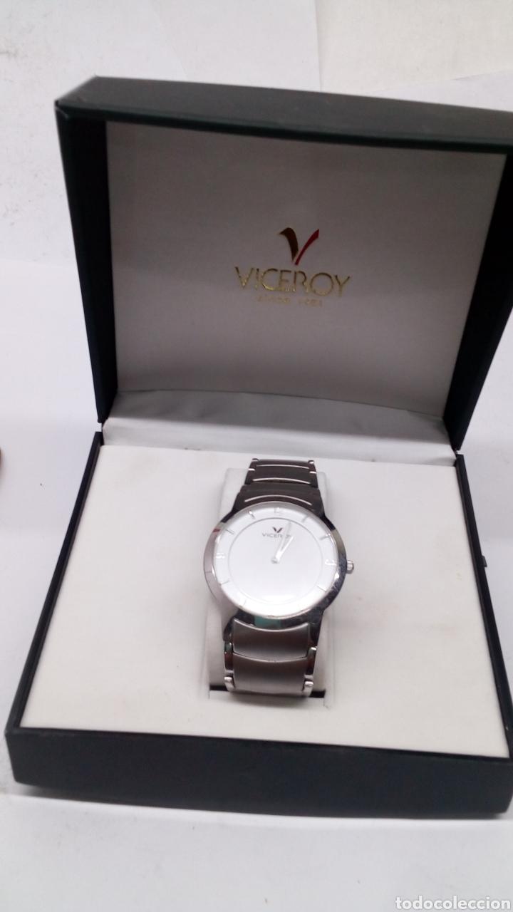 Relojes - Viceroy: Reloj Viceroy en acero completo como nuevo - Foto 2 - 193838645