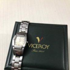Relojes - Viceroy: RELOJ VICEROY REF 47100 ACERO SEÑORAS •*•. Lote 194632147