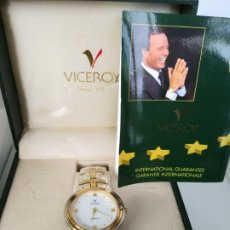 Relojes - Viceroy: CAJA Y CERTIFICADO DEL RELOJ JULIO IGLESIAS VICEROY . RELOJ NO INCLUIDO. Lote 196347420