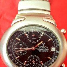 Relojes - Viceroy: RELOJ VICEROY CALENDARIO MULTIFUNCION WUATER RESISTEN 100MTROS DIAMETRO 38MILITRS. Lote 199001473