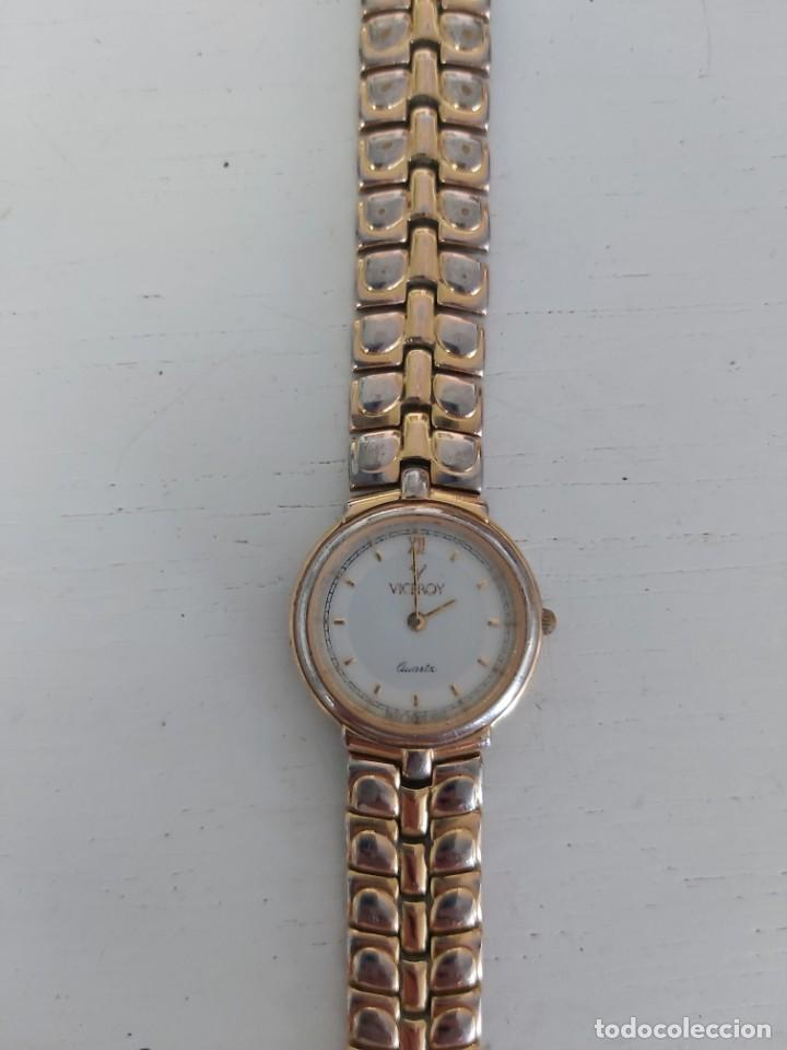 Relojes - Viceroy: VICEROY. RELOJ DE MUJER DORADO. MODELO 40036. - Foto 2 - 205773565