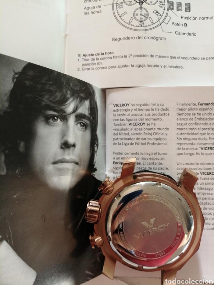 Relojes - Viceroy: Reloj VICEROY VD-53B FERNANDO ALONSO. con certificado de garantía. Falta correa y cambiar la pila. - Foto 2 - 212714263