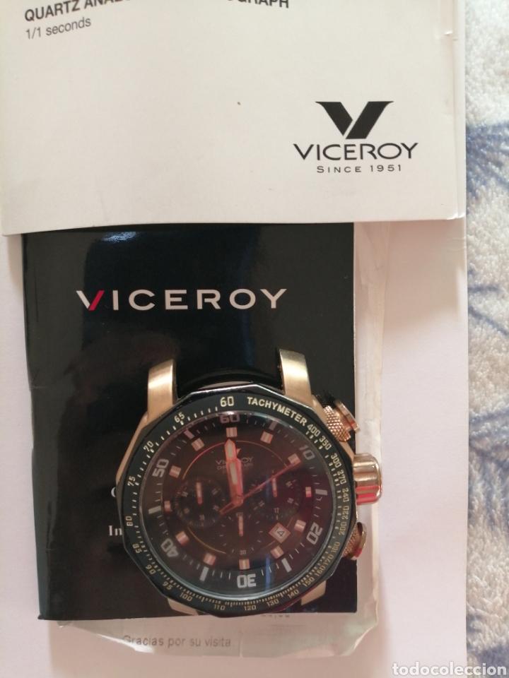 RELOJ VICEROY VD-53B FERNANDO ALONSO. CON CERTIFICADO DE GARANTÍA. FALTA CORREA Y CAMBIAR LA PILA. (Relojes - Relojes Actuales - Viceroy)