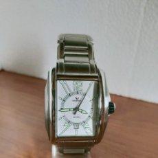 Relojes - Viceroy: RELOJ CABALLERO CUARZO VICEROY DE ACERO CON CALENDARIO A LAS SEIS HORAS, CORREA ACERO CON ANAGRAMA. Lote 213350150