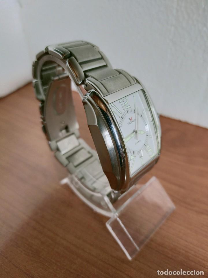 Relojes - Viceroy: Reloj caballero cuarzo VICEROY de acero con calendario a las seis horas, correa acero con anagrama - Foto 4 - 213350150