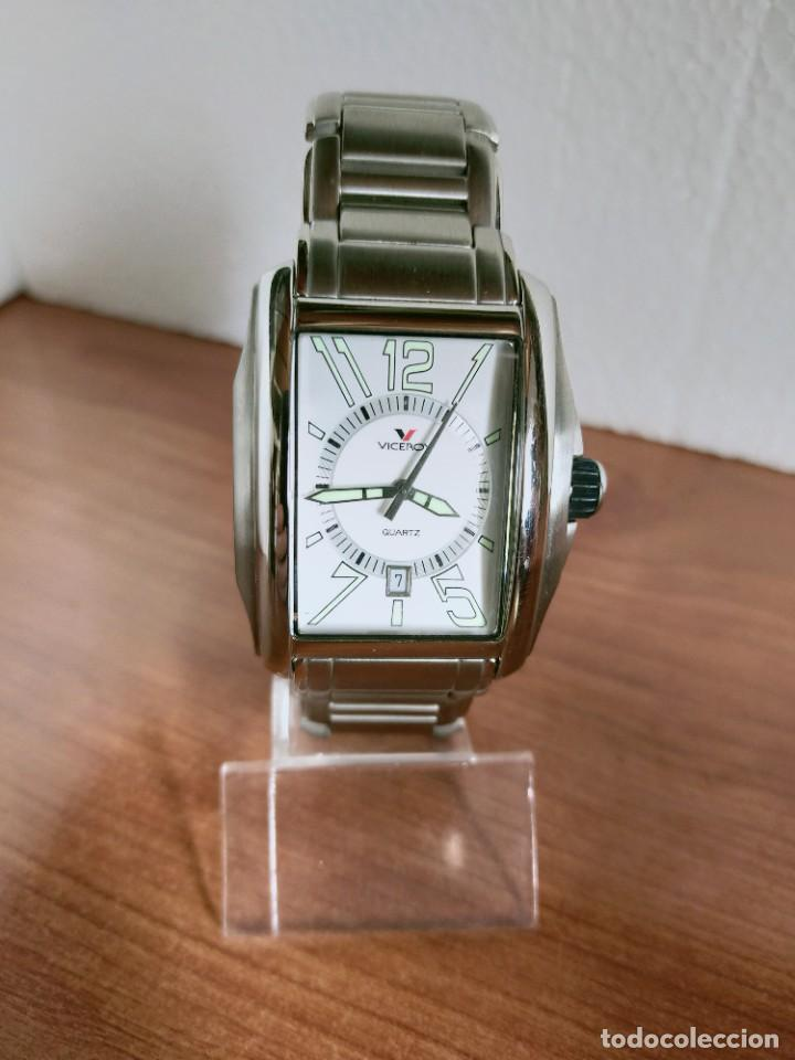 Relojes - Viceroy: Reloj caballero cuarzo VICEROY de acero con calendario a las seis horas, correa acero con anagrama - Foto 5 - 213350150