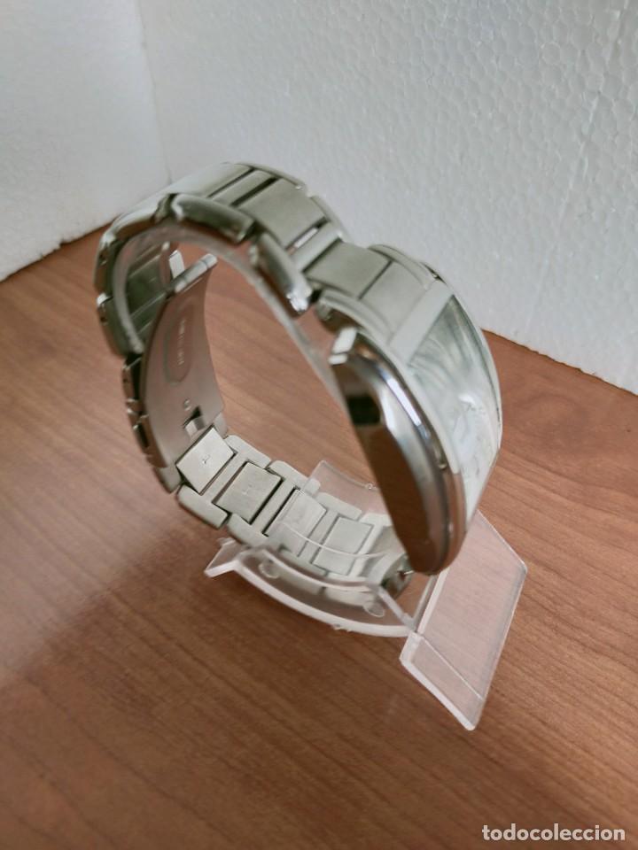 Relojes - Viceroy: Reloj caballero cuarzo VICEROY de acero con calendario a las seis horas, correa acero con anagrama - Foto 6 - 213350150