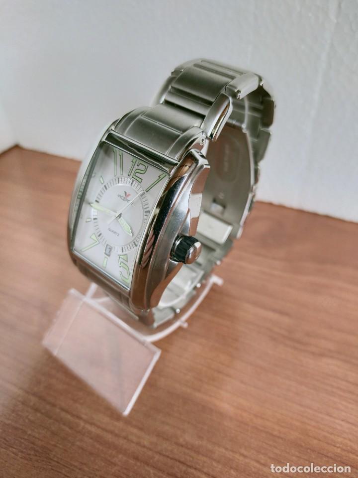 Relojes - Viceroy: Reloj caballero cuarzo VICEROY de acero con calendario a las seis horas, correa acero con anagrama - Foto 7 - 213350150