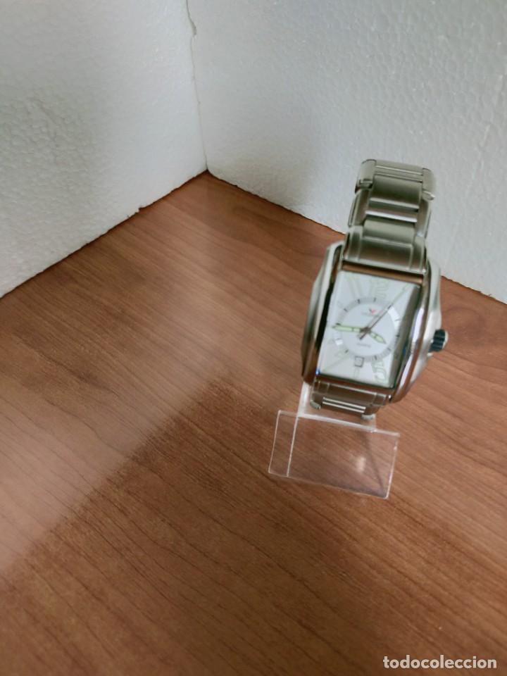 Relojes - Viceroy: Reloj caballero cuarzo VICEROY de acero con calendario a las seis horas, correa acero con anagrama - Foto 8 - 213350150