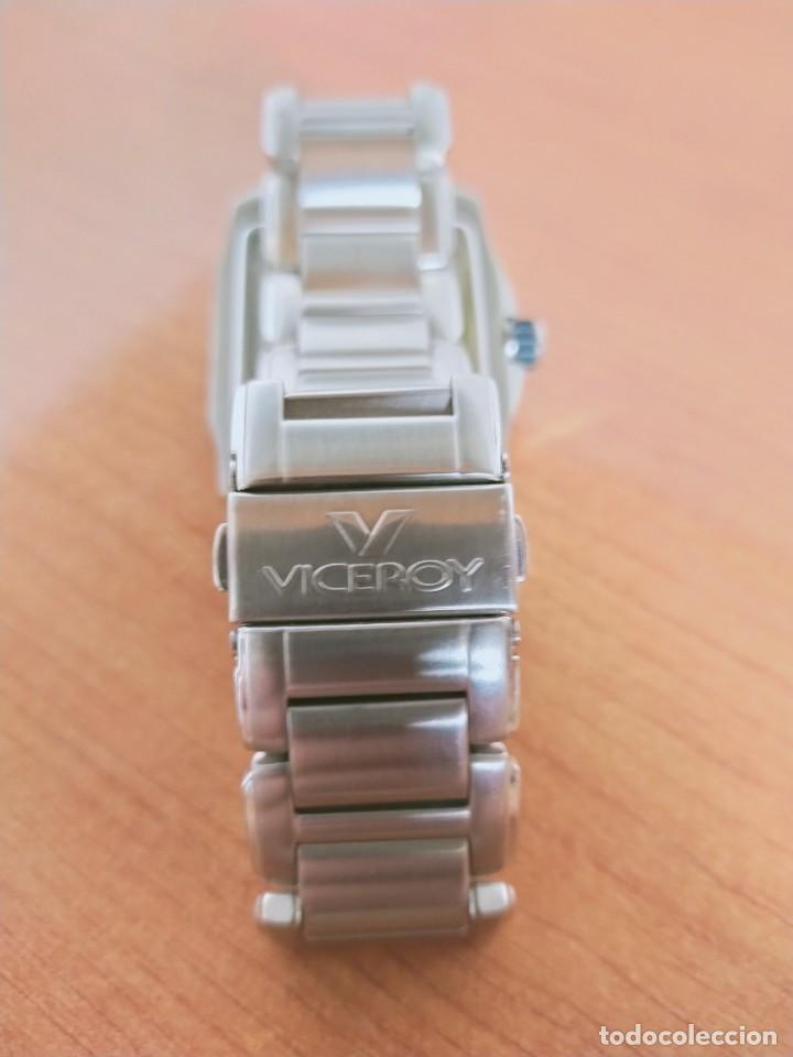 Relojes - Viceroy: Reloj caballero cuarzo VICEROY de acero con calendario a las seis horas, correa acero con anagrama - Foto 9 - 213350150