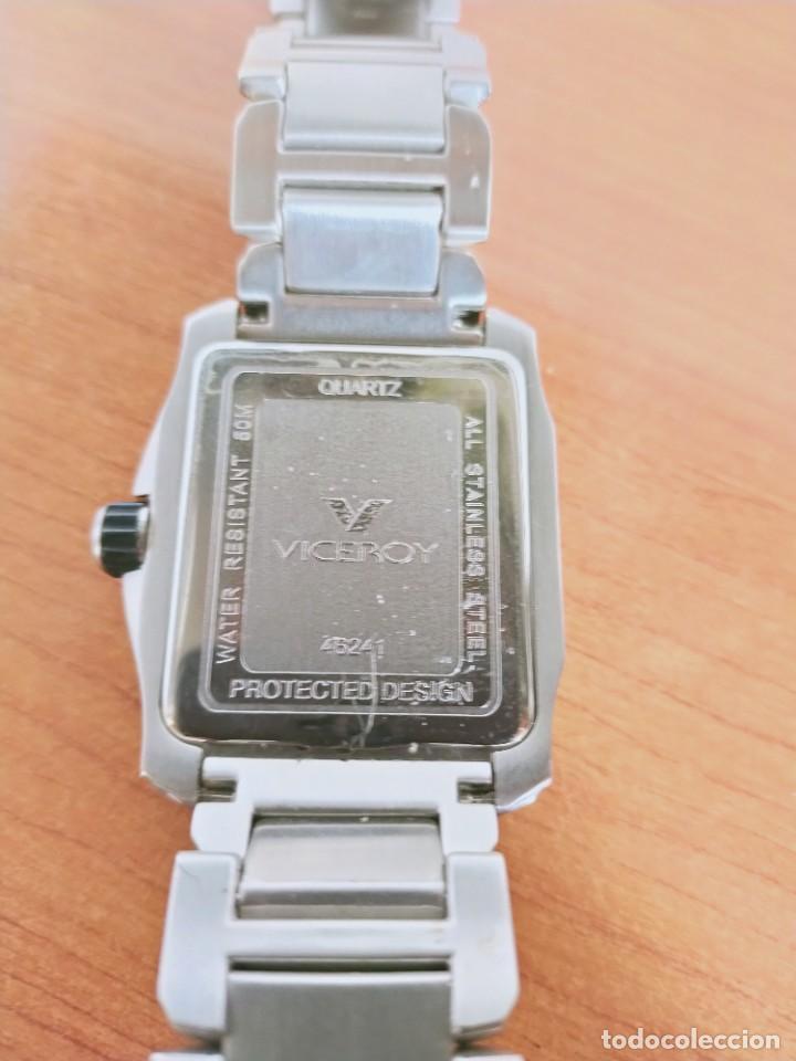 Relojes - Viceroy: Reloj caballero cuarzo VICEROY de acero con calendario a las seis horas, correa acero con anagrama - Foto 11 - 213350150