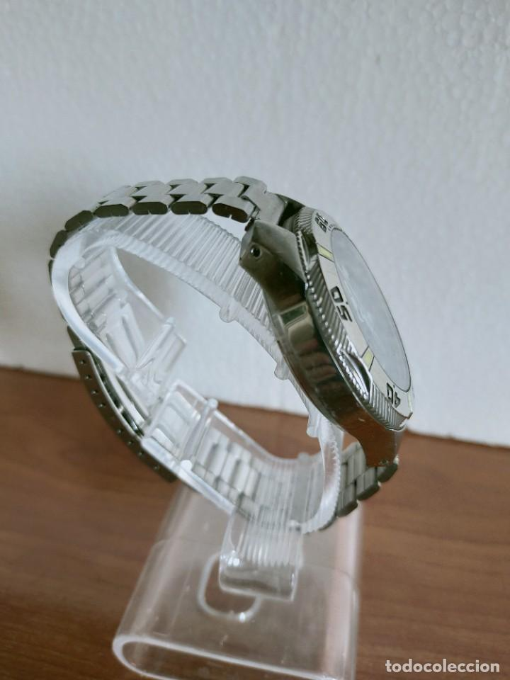 Relojes - Viceroy: Reloj caballero acero VICEROY cronografo cuarzo con calendario a las tres, correa acero no original. - Foto 11 - 213073516