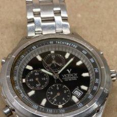 Relojes - Viceroy: RELOJ VICEROY CHRONOGRAPH PARA PIEZAS CON SU CORREA ORIGINAL. Lote 222019892