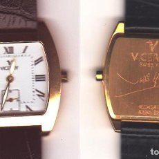 Relojes - Viceroy: RELOJ VICEROY - CAJA DE ORO DE 18 KILATES - MODELO J. IGLESIAS. Lote 224089732