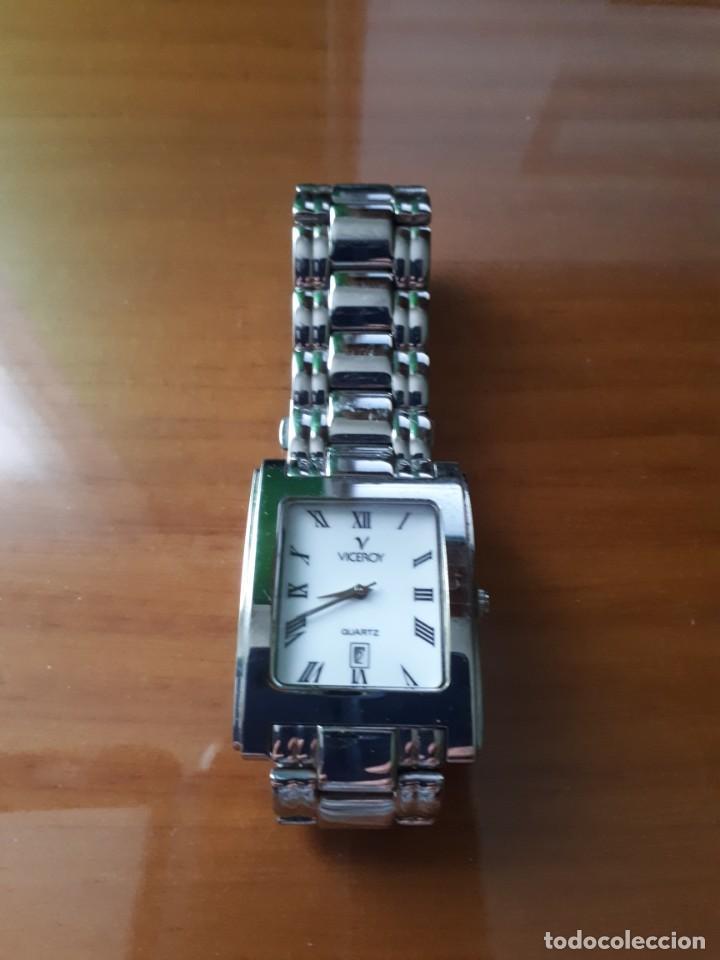 RELOJ DE PULSERA QUARTZ CABALLERO MARCA VICEROY MODELO 46093 - VINTAGE. (Relojes - Relojes Actuales - Viceroy)