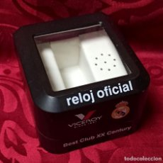 Relojes - Viceroy: CAJA ORIGINAL - RELOJ OFICIAL - VICEROY SINCE 1951 - REAL MADRID - BEST CLUB XX CENTURY. Lote 244731895