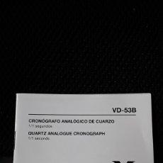 Relojes - Viceroy: MANUAL INSTRUCCIONES RELOJ CRONO VICEROY.. Lote 246128780