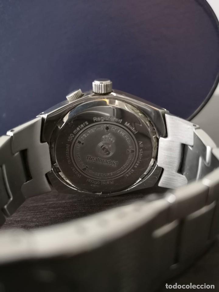 Relojes - Viceroy: RELOJ VICEROY REAL MADRID 29 LIGAS - CORREA ACERO Y CAJA ORIGINAL - Foto 3 - 246236470