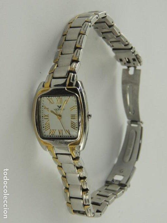 VINTAGE RELOJ DE PULSERA MARCA VICEROY QUARTZ (Relojes - Relojes Actuales - Viceroy)