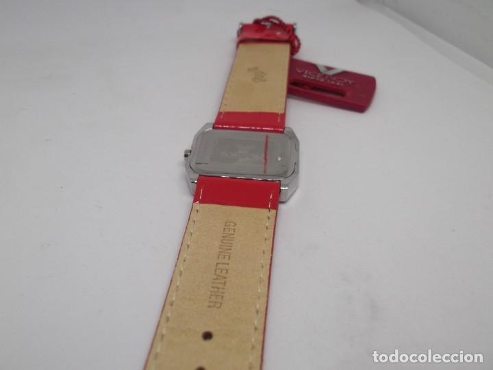 Relojes - Viceroy: Reloj Viceroy Top de señora .Correa roja de charol.Vintage - Foto 3 - 248592220