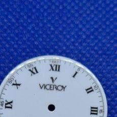 Relojes - Viceroy: UNA ESFERA RELOJ MARCA VICEROY CUARZO BLANCA, 29153 PARA MÁQUINA RONDA 705, STOCK TALLER RELOJERIA.. Lote 249052025