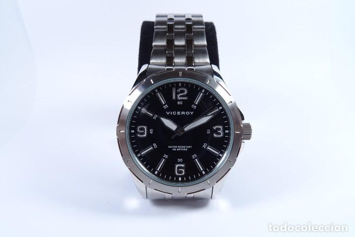Relojes - Viceroy: Reloj viceroy clásico con en acero, con esfera negra y tres agujas - Foto 2 - 249097545