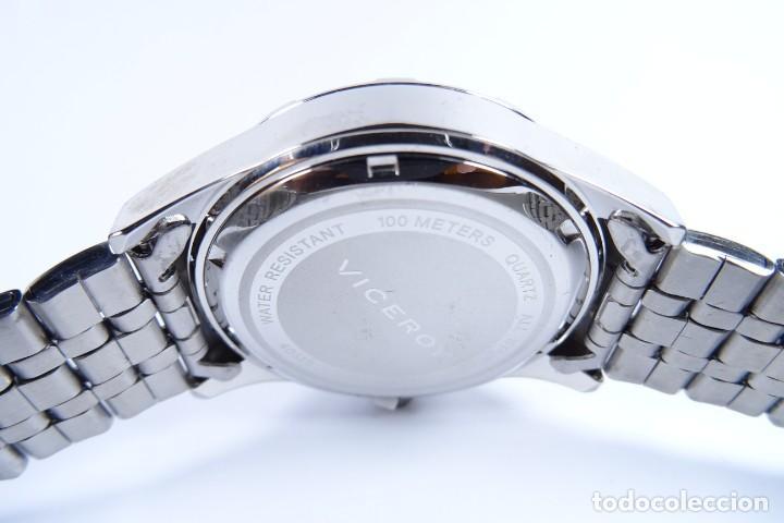 Relojes - Viceroy: Reloj viceroy clásico con en acero, con esfera negra y tres agujas - Foto 5 - 249097545