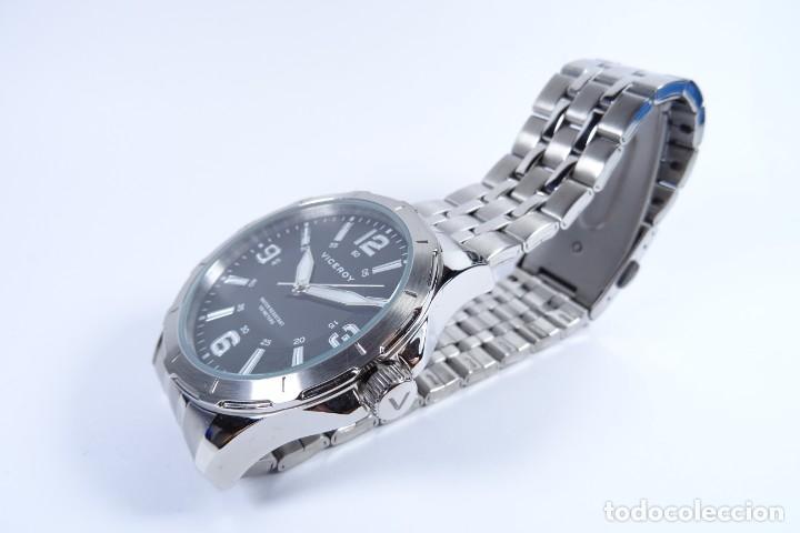 Relojes - Viceroy: Reloj viceroy clásico con en acero, con esfera negra y tres agujas - Foto 8 - 249097545