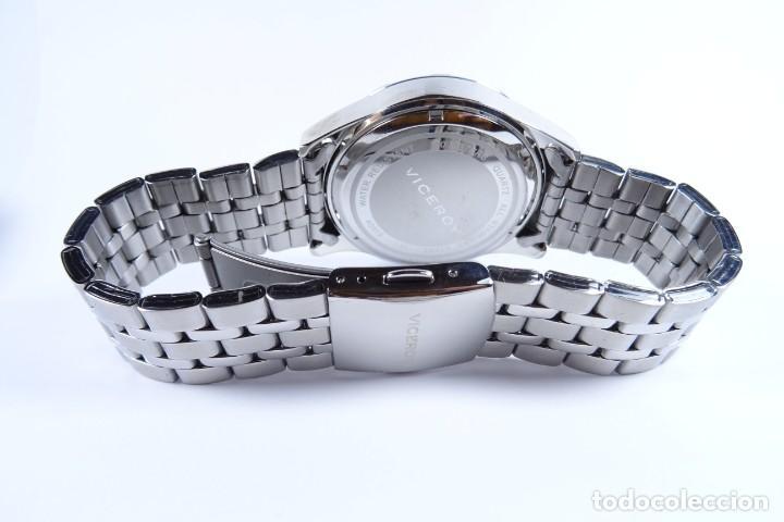 Relojes - Viceroy: Reloj viceroy clásico con en acero, con esfera negra y tres agujas - Foto 9 - 249097545