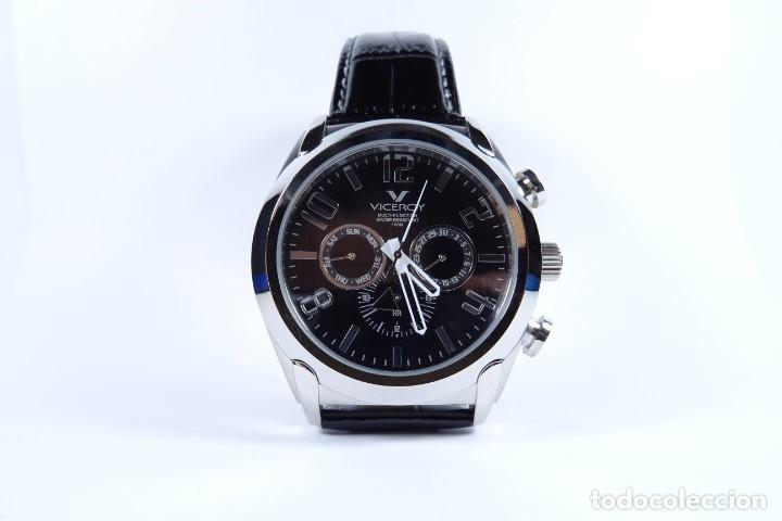 Relojes - Viceroy: Reloj viceroy clásico con en acero y cuero negro, multifunción - Foto 2 - 249097680