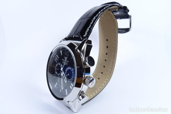 Relojes - Viceroy: Reloj viceroy clásico con en acero y cuero negro, multifunción - Foto 3 - 249097680
