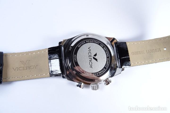 Relojes - Viceroy: Reloj viceroy clásico con en acero y cuero negro, multifunción - Foto 4 - 249097680