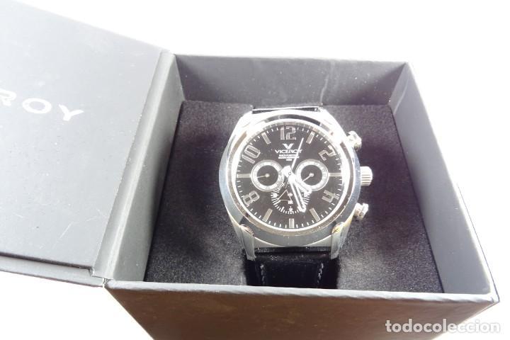 Relojes - Viceroy: Reloj viceroy clásico con en acero y cuero negro, multifunción - Foto 6 - 249097680